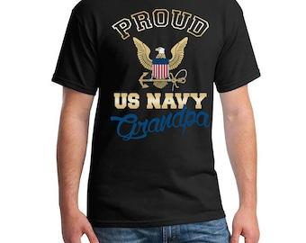 US Navy Shirt. US Navy Grandpa. Proud Us Navy Grandpa. Us Navy Grandpa. Us Navy Grandpa Shirt. Military Shirt