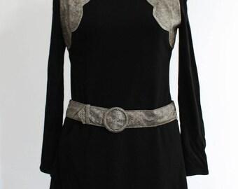 Vintage 1960s TOP TEN Mod Dress