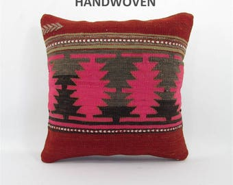 bohemian pillow kilim pillow boho decor throw pillow boho pillow cover pillow case tribal pillow decorative pillow home decor pillows 000393