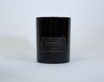 Scented Soy Candle - Wood 3