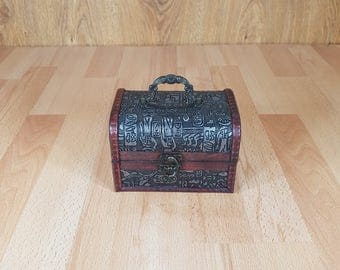Wooden box - Jewelry Box - Box - Handmade.