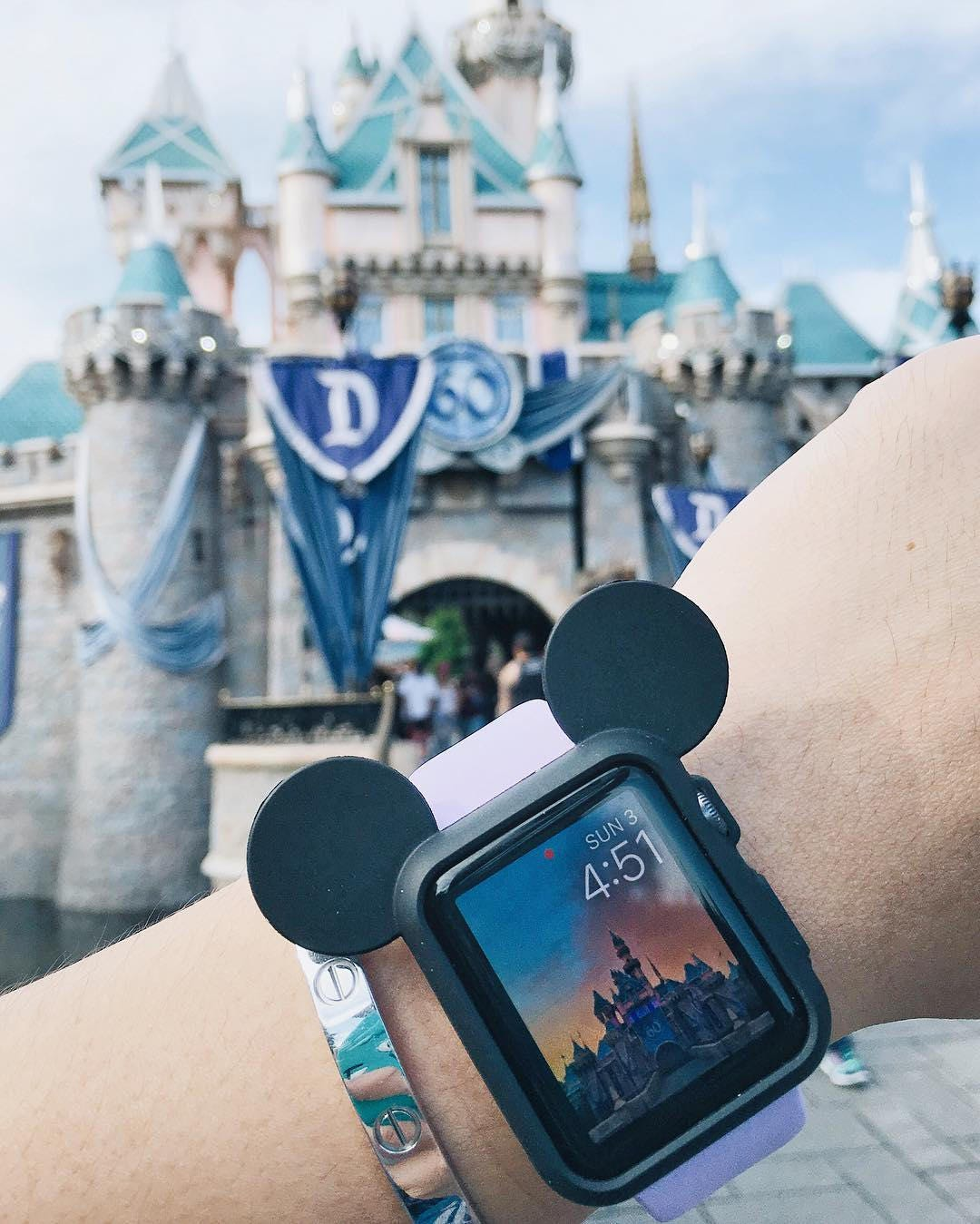 Mickey Mouse Ear Iwatch Case Disney Apple Watch Cover