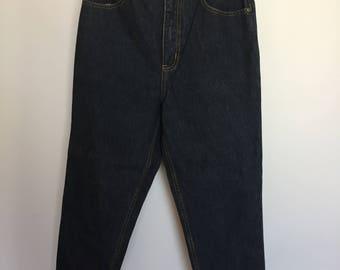 High Waisted Vintage Denim Jeans