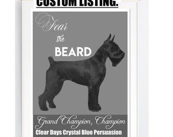 wall art print, DOG, SCHNAuZER breeder, PET POrTRAIT, printable, gift,  DOG lover, Svg, pdf, png, jpg, JPEg