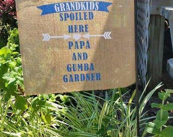 Personalized Grandparent's Flag