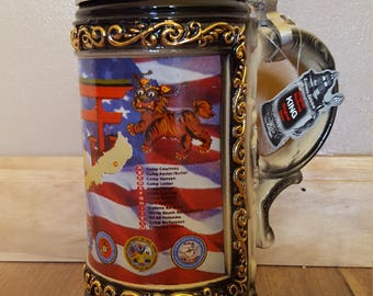 Original Bierkrug King Stein Japan Limited Edition 497 of 1000 made in Germany