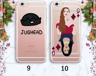 Queen riverdale iPhone X case Samsung S8 iPhone 6 Plus Galaxy S7 Edge iPhone 7 Plus iPhone 8 Plus iPhone 7 Crown Gift Under 20 Rubber Case