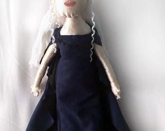 Daenerys Targaryen  handmade doll