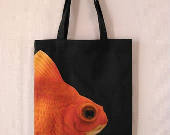Goldfish print of pettanko bag