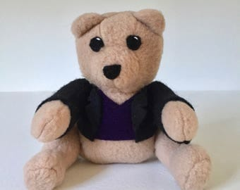 Doctor Who Inspired Plushie - The Ninth Doctor, 9th Doctor, Christopher Eccleston Doctor Bear Plush | Benji the Bear