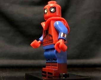 Hoodie Spider-Man Homecoming custom Minifigure Marvel Superheroes
