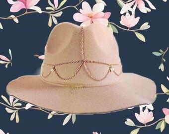 Ballin' fedora hat