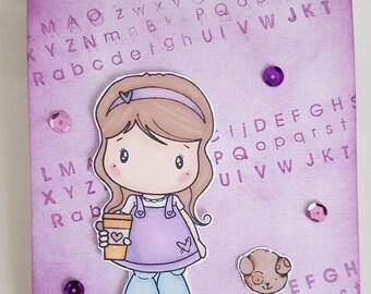 Card girl
