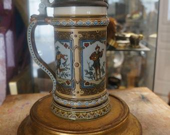 Villeroy and Boch Mettlach Stein #1797