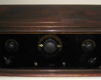 1925 Day-Fan Model 5044 Tuned Radio Frequency (TRF) Antique Radio -- It Works!