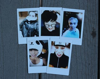 Jonghyun Selca Polaroids | 김종현 In Rememberance