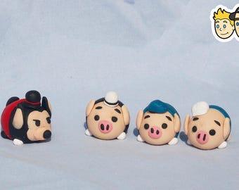 Three Little Pigs (Tsum Tsum Inspired)