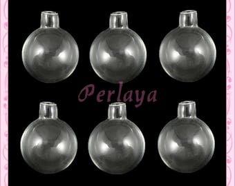 5 round 25mm REF1131X5 glass globes