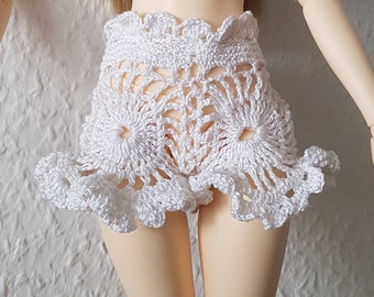 Crochet lace shorts for BJD