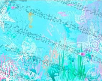 Under the Sea Digital file