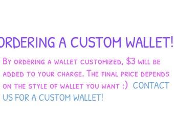Custom Made Wallets!