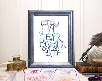 """GudsOrd """"Det er i ham vi lever ..."""""""