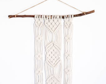 Bohemian macrame wall hanging @ The West Village