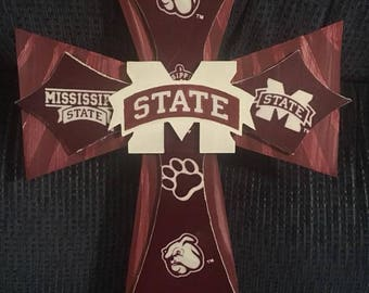 Custom Made Mississippi State Crosses