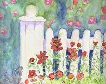 Garden Fence / Gartenzaun