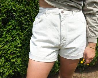 Vintage Lee Denim High Rise Shorts