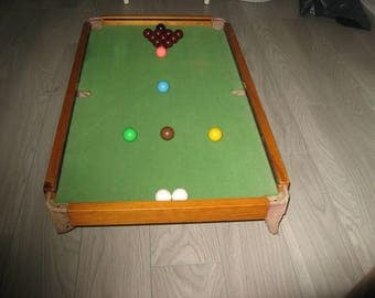 Snooker table billiard-collectors item-1958.