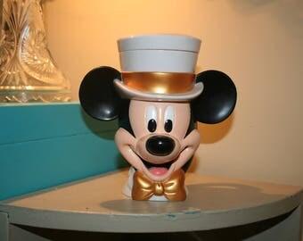 Vintage Mickey Mouse Cup Plastic Mug