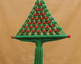 christmas tree wall hangingmacrame - Wall Hanging Christmas Tree