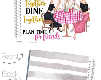 SOUTHERN LADY MAGAZINE Ladies Who Lunch, Social Girls Happy Planner Cover, Magazine Cover, Planner Cover, Magazine Stylish  Planner Cover