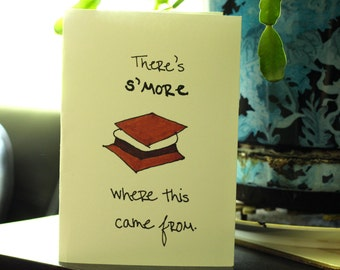 S'More Greeting Card