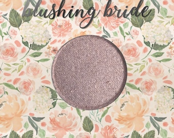 Blushing Bride, 26 mm single pan eyeshadow, shimmer light pink-beige
