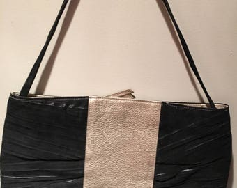 Black and Silver Bag