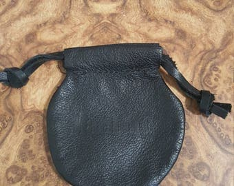 Vintage Leather Marlboro Change Pouch - Or very Nice Leather pouch