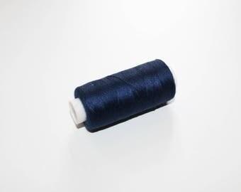 Sewing thread spool of thread sewing 350 m dark blue, dark blue 100% polyester