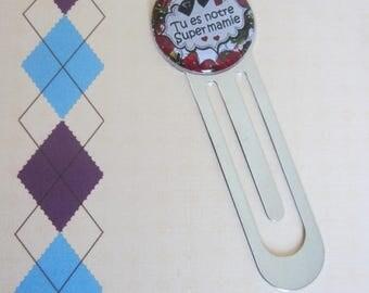 """Grandmas day - Gift for Grandma: bookmark """"You're our great Grandma"""""""