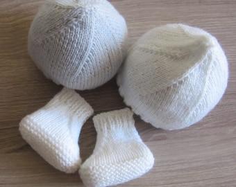 Box (set of 3) premature baby Hat