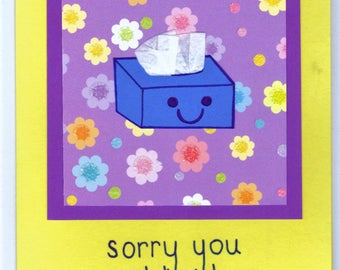 Get Well Card - Cute