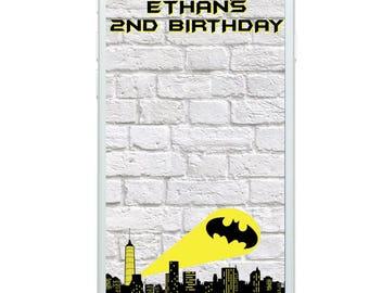 Batman Filter, Batman Party, Batman Snapchat Filter, Snapchat, Geofilter
