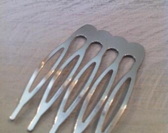 Comb decoration silver