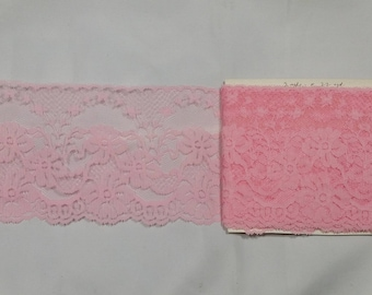Pink Lace (2 yards)