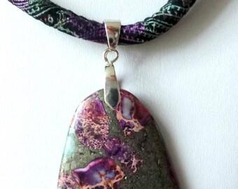 Necklace Jasper Unakite