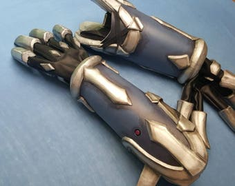 Nevermore Reaper Arm Armor Gloves Overwatch Cosplay