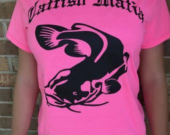 Hot Pink Catfish Mafia Tee.