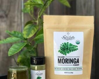 USDA Certified Organic Moringa Powder