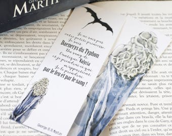 "Bookmark quote Daenerys - Game of Thrones - George R.R. Martin - ""I am not your little princess. I am Daenerys Stormborn..."""